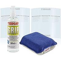 Bribar Grip Reiniger Set - 250ml Spray + Micro Schwamm + 2 X Belagschutzfolie