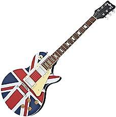 New Jersey Elektrische Gitarre von Gear4music Union Jack