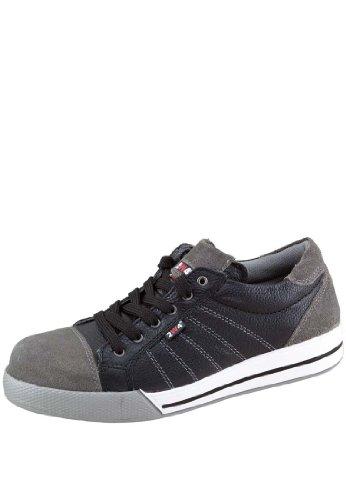 2W4 RYAN Halbschuh EN345 S3 schwarz/grau Sicherheitsschuhe Sneaker (Sneaker Geformte)