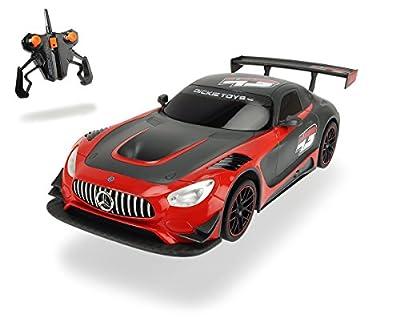 Dickie Toys 201119103 - Rennauto Mercedes-AMG GT3, mit Batterien, 30 cm von DickiDickie Toys 201119103 - Rennauto Mercedes AMG GT3 me Spielzeug