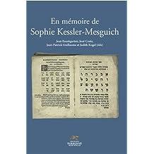 En mémoire de Sophie Kessler-Mesguich