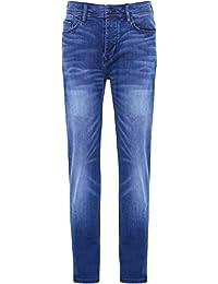 Hugo Boss Orange Hommes Jeans Orange90 conique Bleu Vif
