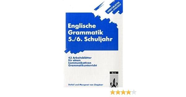 Arbeitsblätter Englisch/Englische Grammatik 5./6. Schuljahr: 43 ...