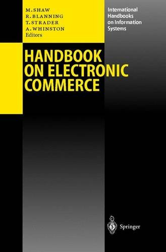 Handbook on Electronic Commerce (International Handbooks on Information Systems)