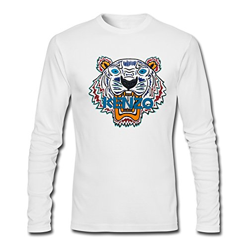 kenzo 2016 For Men's Printed Long Sleeve tops T-shirts