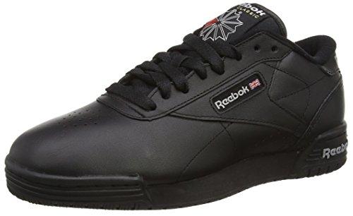 Reebok Unisex-Erwachsene Ex-o-Fit Clean Logo Int Low-Top, Bunt Black (Int Black/Silver/Silver)