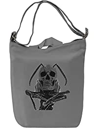 Devil Wasp Bolsa de mano Día Canvas Day Bag| 100% Premium Cotton Canvas| DTG Printing|