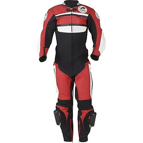 Furygan Combi Junior 1pièce Moto Combinaison, Enfant, Noir / blanc / rouge