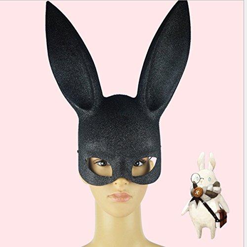 Leg Avenue; Damen-Hasenmaske für Cosplay, Halloween, Dekoration -
