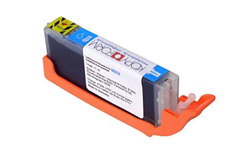 KOPYFORM Lebensmitteltinte Patrone Cyan Canon-kompatibel (CLI-571) - TK174 - Kompatible Cyan Tintenpatrone