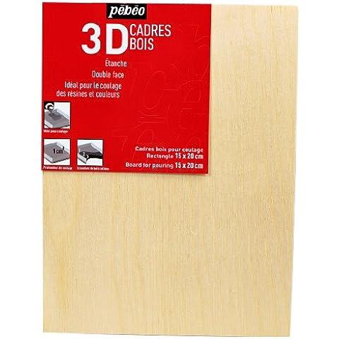 Pebeo 777631 - Tablero de madera para dibujar
