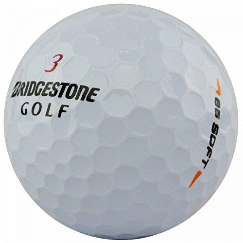 lbc-sports 50 Bridgestone E6 Soft - AAAAA - weiß - PremiumSelection - Lakeballs - gebrauchte Golfbälle - Teichbälle