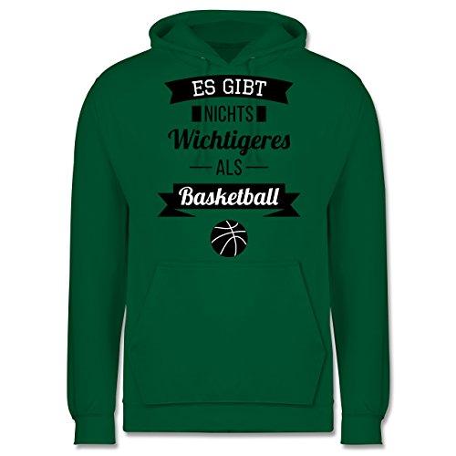 Basketball - Es gibt nichts Wichtigeres als Basketball - Männer Premium Kapuzenpullover / Hoodie Grün