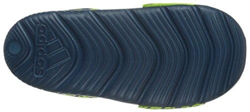 adidas  Akwah 9 I, sandales mixte bébé Vert / Bleu (Seliso / Minera / Minera)