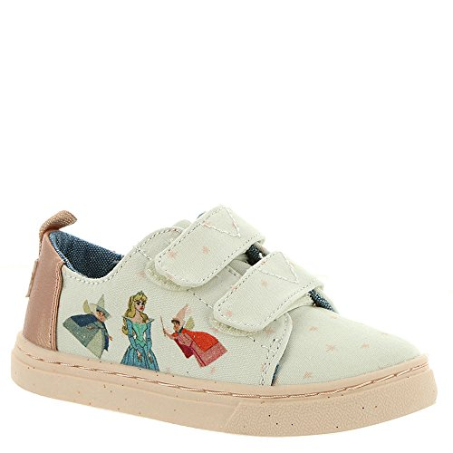 Toms - sneakers per bambini sleeping beauty disney lenny, (sleeping beauty disney), 21 eu
