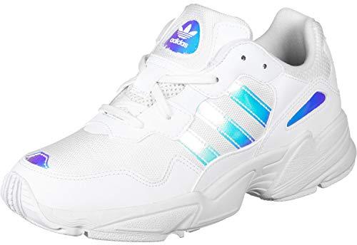 Adidas Wmn Jung 96 J White Silver Größe: 4,5(37⅓) Farbe: White - Jungs Adidas Größe Schuhe 4
