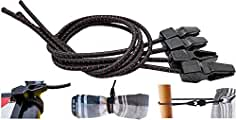Expansor 60cm Ø 10mm negro de sujeción de goma bungee