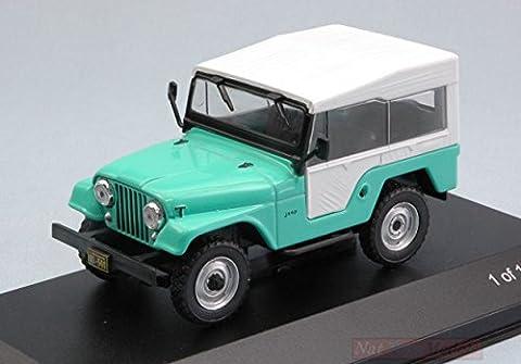 WHITEBOX WB234 JEEP CJ-5 1963 LIGHT GREEN/WHITE 1:43 MODELLINO DIE CAST MODEL