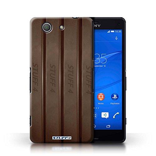 Kobalt® Imprimé Etui / Coque pour Sony Xperia Z3 Compact / Doigts/Sticks conception / Série Chocolat Doigts/Sticks