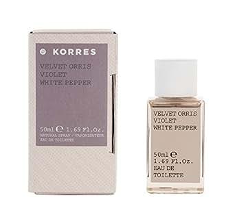KORRES For Her Velvet Orris, Violet and White Pepper 50 ml EDT