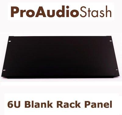"""48,26 cm (19"""")-rack 6u pannello porta flangiato in acciaio"""