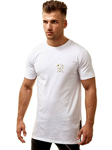 aerosol-herren-slit-long-tee-shirt-weiss-medium