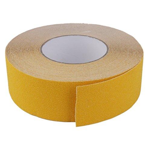 Seguridad Amarilla Cinta De Agarre Bano Escalera Antideslizante 18m Etiqueta Rollo Adhesivo