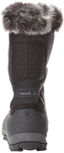 Kamik MOMENTUM Damen Warm gefütterte Schneestiefel Schwarz (Black)