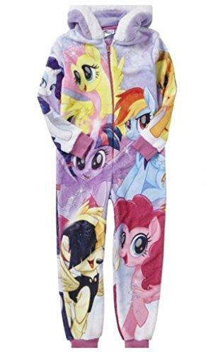 Hasbro My Little Pony Girls Onesie Pyjamas Hooded