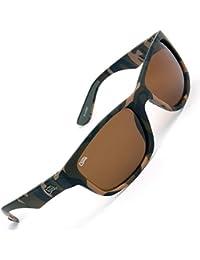 Fox Chunk Sunglasses – Polarización Gafas para Pesca, Gafas, Gafas de Sol para la