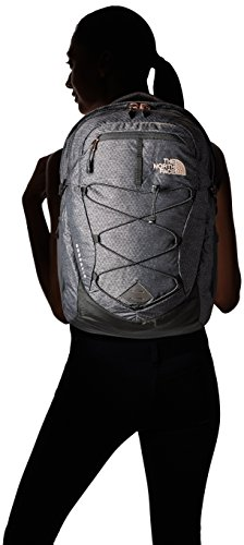 The North Face Damen Borealis Rucksack TNF Black Heather (Std)/Rose Gold
