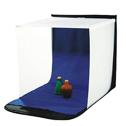 DÖRR Lichtzelt/Aufnahmebox schwarz/weiß LFPBF-40 40x40 cm inkl. blauer Hintergrund, Integrierte Transporttasche