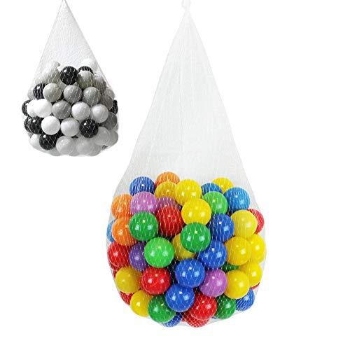cd8bb0c56f4c Monsieur Bébé ® Sac de 100 balles de jeu ou de piscine Ø 5,5