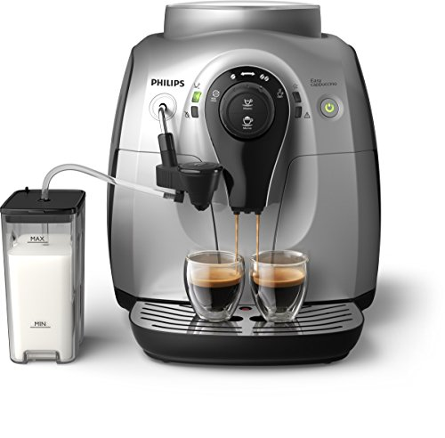 Philips HD8652/51 Série 2100 Machine à Espresso Automatique, 1400 W, 1 Liter, Silber