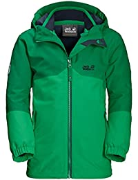 JACK WOLFSKIN 3in1-Jacke B ICELAND 3IN1 JKT, evergreen, 92, 1605253-4075092
