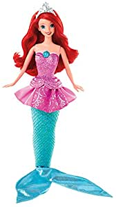 Mattel Disney Princess Y9955 - Verwandlungsprinzessin Arielle, Puppe