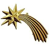 Rossi Rosa Comet Gold Metal, Lunghezza 15 cm, Multicolore, Taglia Unica