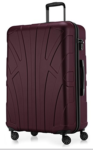 SUITLINE - Hartschalen-Koffer Koffer Trolley Rollkoffer Reisekoffer, TSA,...