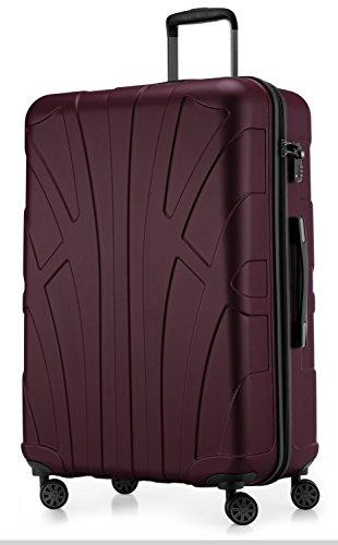 Suitline großer Hartschalen-Koffer Koffer Trolley Rollkoffer XL...