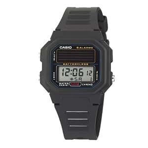 Casio Men's AL190W-1AV Black Resin Quartz Watch with Digital Dial