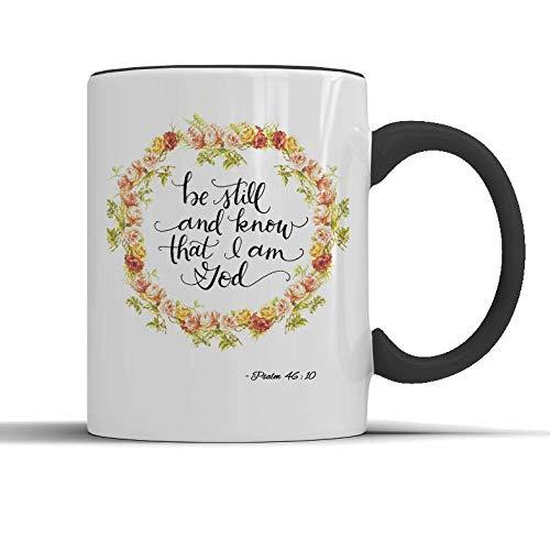 Bibelvers Tasse christliche Tasse katholische Tasse Bibelkraft Bibelkraft Inspiration christlicher Glaube Spirituelle Kaffeetasse Geschenk