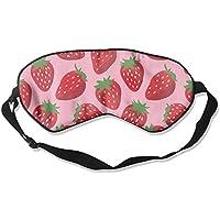 Delicious Strawberry Seamless Illustration Sleep Eyes Masks - Comfortable Sleeping Mask Eye Cover For Travelling... preisvergleich bei billige-tabletten.eu