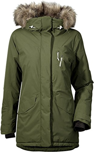 Didriksons Stacie Women Jacket - Winddichte Outdoorjacke 46 Peat