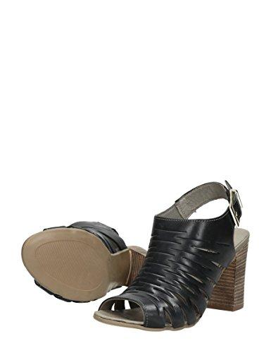 Choizz , Sandales pour femme Noir * taille asiatique XL DK.GRIJS