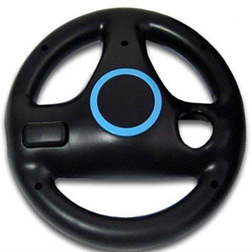 Mario Kart Mando volante para uso con Nintendo Wii Negro [PC]