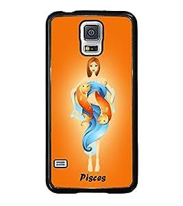 Printvisa Ultra Pisces 2D Hard Polycarbonate Designer Back Case Cover for Samsung Galaxy S5 :...