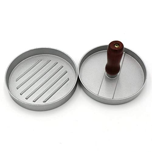 Wenwenzui Aluminum Patty Press Form Hamburger Mold Pressure Press Burger Making Toolssilver Hamburger Patty Mold
