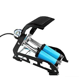 FANFAN Fußpumpe Hochdruck Tragbare Fahrrad-Elektroauto Motorrad Auto-Fuß Pumpe Luftpumpe Luftpumpe