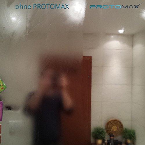 PROTOMAX Nano Antibeschlag Spray (Antifog) fürs Bad: Glas, Glasscheiben, Rasierspiegel & Duschspiegel (20 ml)
