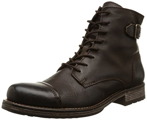 JACK & JONES Jjsiti Leather Boot Brown Stone, Stivaletti classici non imbottiti, corti uomo, Marrone (Braun (Brown Stone)), 40